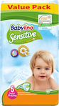 Babylino Sensitive With Chamomile No 5 (11-25kg) Junior 2x44τμχ