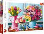 Flowers in Vases 1500pcs (26157) Trefl
