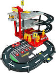 Bburago Ferrari 1/43 Race Play Parking Garage with 2 Cars