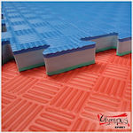 Olympus Sport Floor Mat Tatami Foam JY 50o Hard 763716233 Blue/Red