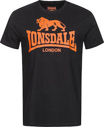 Lonsdale Logo 119083 Black / Orange
