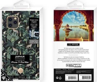So Seven Jaipur Back Cover Black Leopard (iPhone 11 Pro Max)