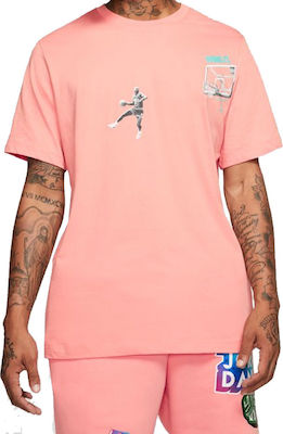 Ανδρικό T-shirt Nike Wing It CD5644-606 Pink Quartz