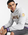 Mitchell & Ness NBA CNY Los Angeles Lakers hoodie in grey