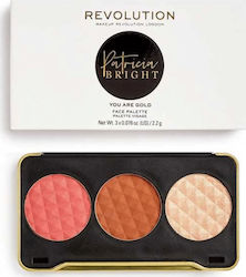 Revolution Beauty X Patricia Bright Face Palette You Are You Are Gold Face Palette