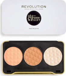 Revolution Beauty X Patricia Bright Moonlight Glow Face Palette
