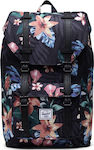 Herschel Supply Co Little America Mid-Volume Floral Black