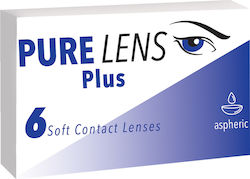 Pure Lens Plus Μυωπίας Μηνιαίοι 6τμχ
