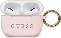 Guess Silicone Case Pink Blister (Apple AirPods Pro)