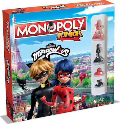 Winning Moves Junior Miraculous English Edition