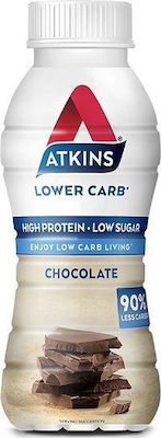 Atkins Lower Carb Ready To Drink 330gr Chocolate