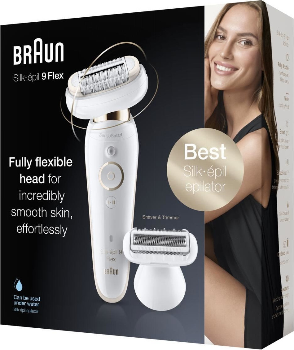 Braun Silk-epil 9 Flex Flex Wet & Dry epilato  (9002) - Πληρωμή και σε έως 36 Δόσεις!!!