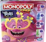 Hasbro Monopoly Junior DreamWorks Trolls World Tour Edition Board Game