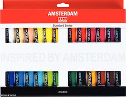 Royal Talens Amsterdam All Acrylics Standard 20ml 24τμχ