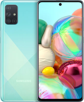Samsung Galaxy A71 (128GB) Prism Crush Blue