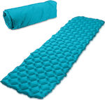 Navaris Inflatable Sleeping Mat 5cm Blue