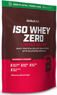 Biotech USA Iso Whey Zero Limited Edition 500gr Raspberry