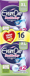 Every Day Double Dry Extra Lοng 16τμχ