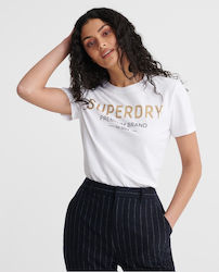 Superdry Entry Premium Sequin White