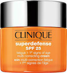 Clinique Superdefense Fatigue & 1st Signs of Age Multi Correcting Gel Combination Oily to Oily SPF25 50ml