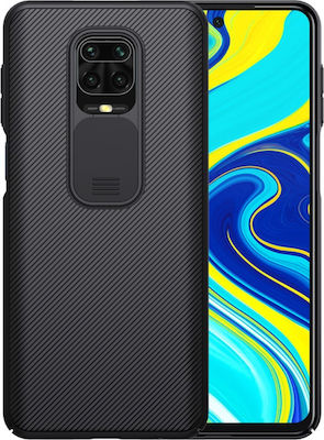 Nillkin Camshield Series Back Cover Μαύρο (Redmi Note 9S / Note 9 Pro)