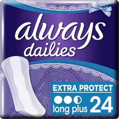 Always Dailies Extra Protect Long Plus 24τμχ
