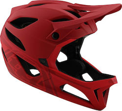 Troy Lee Designs Stage Helmet W/Mips 11543706 Stealth Red