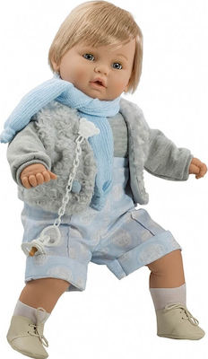 Berbesa Baby Dulzon Boy with Blue Clothes 62cm