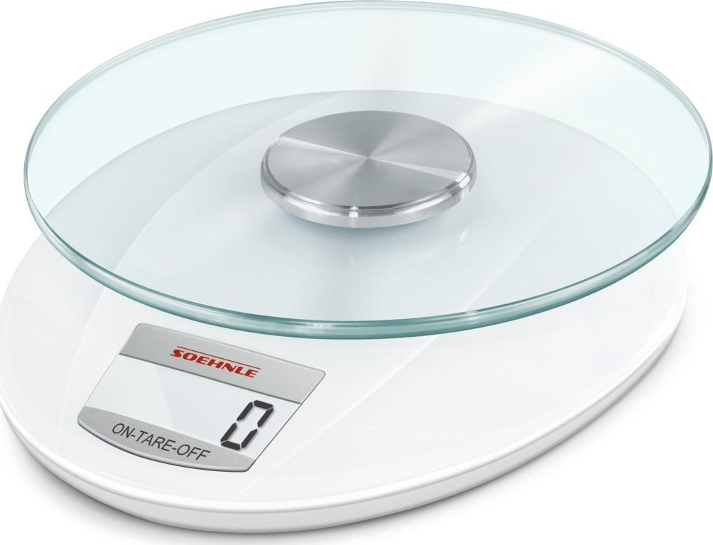 Soehnle Roma Ψηφιακή Ζυγαριά Κουζίνας 5kg White (4006501658470) - Πληρωμή και σε έως 36 Δόσεις!!!
