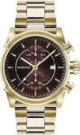 Ανδρικό Ρολόι Versace Urban VEV400619 Brown/Gold