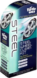 Turtle Wax Καθαριστικό Ζαντών Steel Wheel Cleaner Kit 1lt