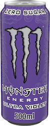 Monster Energy Drink Ultra Violet Zero Sugar 500ml
