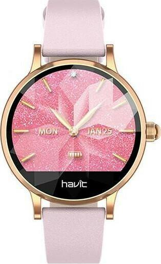 HAVIT Ladies Smart Watch H1105 - Pink - Electro Store