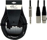 Alpha Audio Cable XLR male - XLR female - 6.3mm...