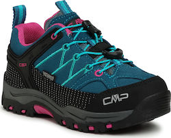 Παπούτσια πεζοπορίας CMP - Kids Rigel Low Trekking Shoes Wp 3Q13244 Deep Lake/Baltic 3Q13244