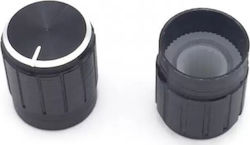 15*17mm aluminum alloy Potentiometer knob - Black
