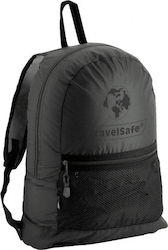 TravelSafe backpack foldable Featherpackpolyester black 18 litres