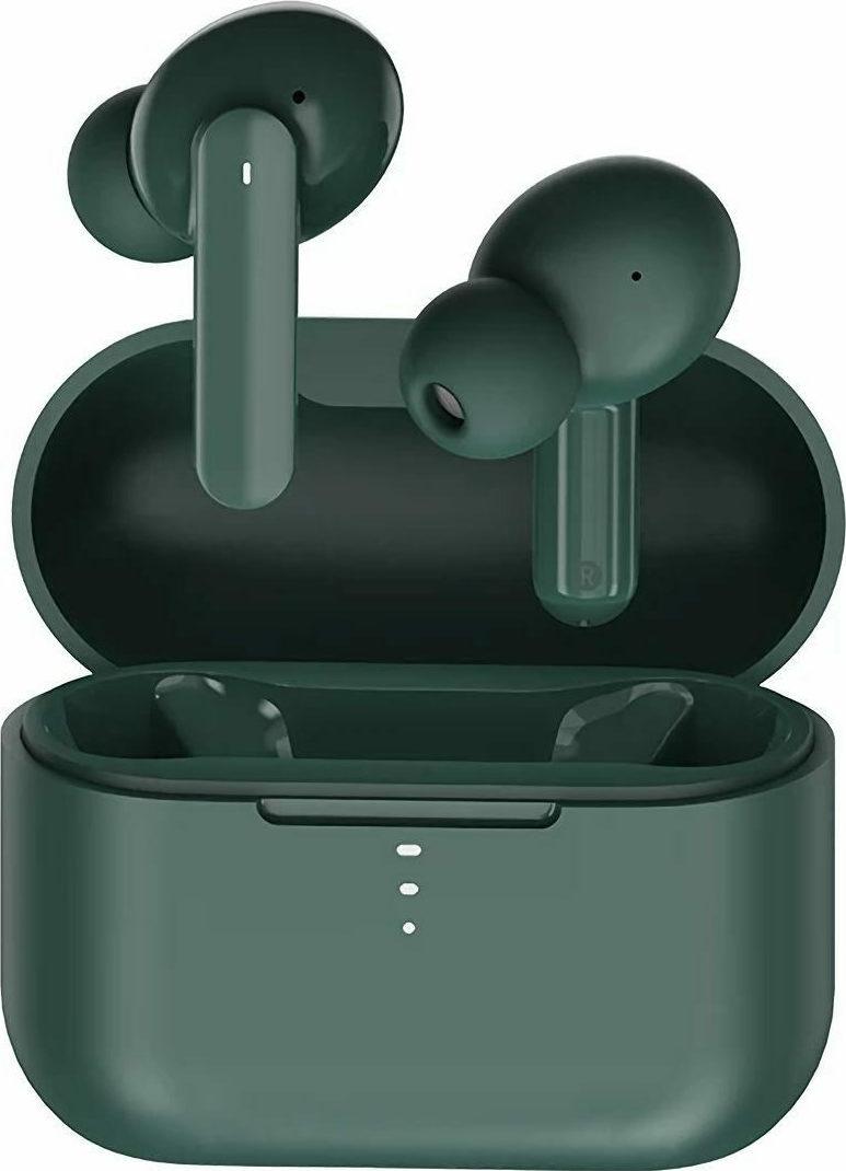 QCY T10 TWS In-ear Bluetooth Handsfree Πράσινο (6957141406618) - Πληρωμή και σε έως 36 Δόσεις!!!